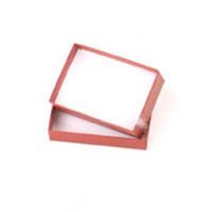 Picture of Brick Red Cotton Filled Gift Box 3 1/16 x 2 3/25 x 1 Inch