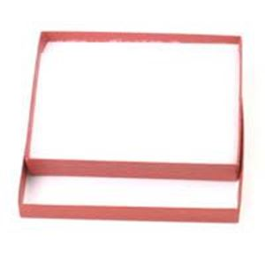 Picture of Brick Red Cotton Filled Gift Box 5 1/4 x 3 3/4 x 7/8 Inch