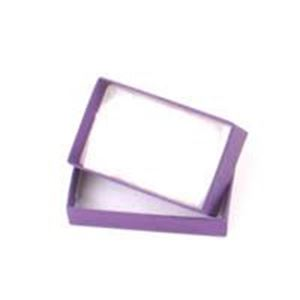 Picture of Purple Cotton Filled Gift Box 2 1/2 x 1 1/2 x 7/8 Inch