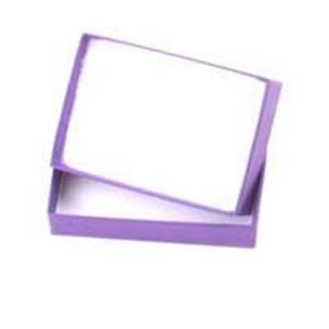Picture of Purple Cotton Filled Gift Box 3 1/16 x 2 3/25 x 1 Inch