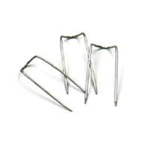 Picture of Stainless Steel White U-Shape Display Pins, Sold per pkg of ~        10