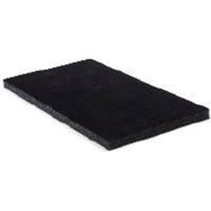 "Picture of Black Flock Ring Pad, 72 Stagger Ring Slots, 14-1/8"" x 7-5/8"" x ~ 5/8"""