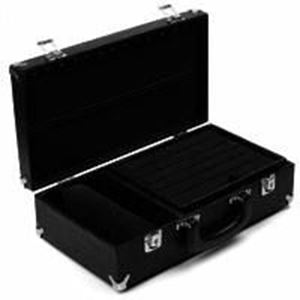 """Picture of Enchanted ~        Deluxe Case, Black/Black, 8"""" L x 14-3/4"""" W x 4"""" H"""