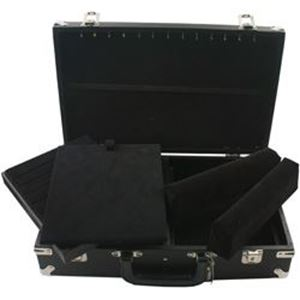 """Picture of Enchanted Deluxe Case, Black/Black, 10"""" L x 16"""" W x 4"""" H"""