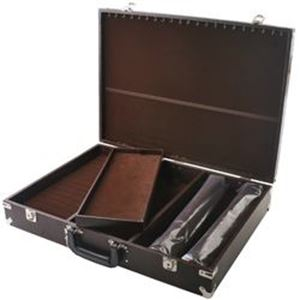 Picture of Brown/Brown Deluxe Case 16 x 22 x 4 Inch