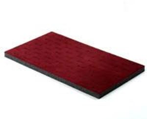 Picture of 72 Burgundy Staggered Ring Pad