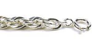 Picture of Sterling Silver French Rope Chain 24 Inch x 5mm