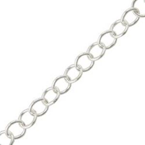 Picture of Sterling Silver Round Cable Bulk Chain 2.9mm