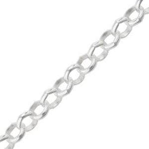Picture of Sterling Silver Rolo Bulk Chain 3.1mm, Sold by the Foot