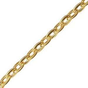 Picture of Gold Plated Cable Chain 2.35mm<br />100 Foot Spool