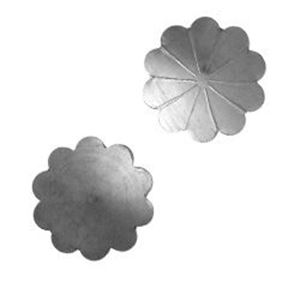 Picture of Sterling Silver Stamped Rosette X-Large 1/2""