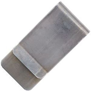 """Picture of Nickel Silver Unfinished Money Clip, 1"""" Wide , 20 Gauge"""