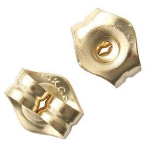 """Picture of 14/20 Gold Filled Ear Clutch 0.032""""<br />10 Pair"""