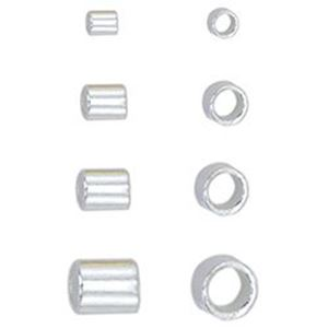 Picture of Beadalon Silver Plated Crimp Tube Variety Pack<br />600 Crimp ~        Tubes