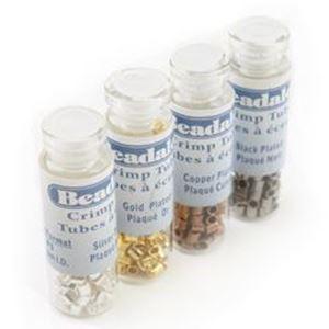 Picture of Beadalon Crimp Tube #3 Color Variety Pack 1.5mm Inner ~        Diameter