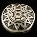 Picture of Silver Plated Indian Star Oxidized Bead