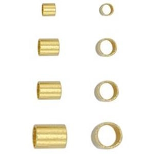 Picture of Beadalon Gold Plated Crimp Tube Variety Pack
