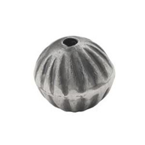 Picture of Sterling Silver Handmade Fluted Bead 12mm
