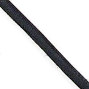 "Picture of 1/8"" Black Leather Lace"