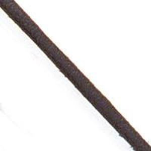 "Picture of Brown Leather 3/32"" Lace, Sold by the Yard"