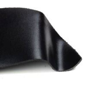 "Picture of Black Leather Concho, 3"" Width, 42"" Length"