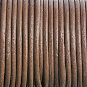Picture of Brown Leather Lace 1.5mm<br />Sold per 10-yard spool