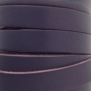 Picture of Purple Flat Leather 8mm<br />Sold per 5-yard spool
