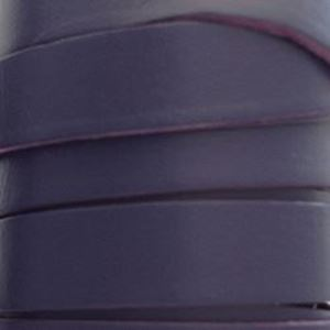 Picture of Purple Flat Leather 12mm<br />Sold per 5-yard spool