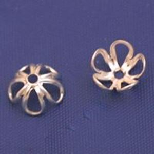 Picture of Sterling Silver Open Bead Cap 6mm