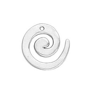 Picture of Sterling Silver Spiral Link 13mm. JBB Finding