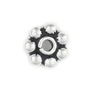 Picture of Sterling Silver Bali Style Daisy 6mm Estimated 0.30 Gram