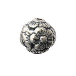 Picture of Sterling Silver Round Flower 9mm 1.3mm Hole<br />B&B ~        Benbassat