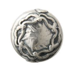 Picture of Sterling Silver Disc Design 15mm 1.7mm Hole<br />B&B ~        Benbassat