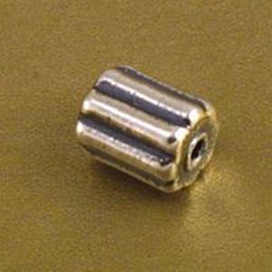 Picture of Sterling Silver Tube Bead 11.7mm, I.D. 1.9mm, JBB Finding