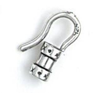Picture of Sterling Silver Crimp Hook 2mm. JBB Finding