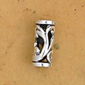 Picture of Sterling Silver Tube Bead 2.5mm, I.D. 9mm, JBB Finding