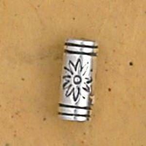 Picture of Sterling Silver Tube Bead 2.25mm Hole 9mm<br />JBB ~        Finding