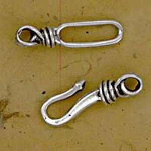 Picture of Sterling Silver Heavy Duty Hook And Eye