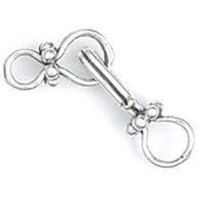 Picture of Sterling Silver Daisy Hook And Eye