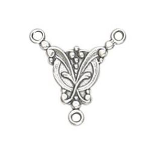 Picture of Sterling Silver Fancy Connector Link 17x16.5mm