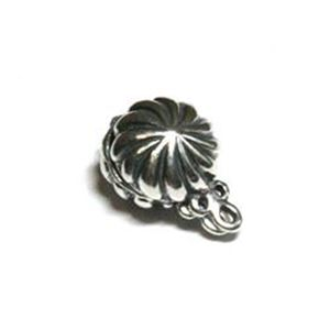 Picture of Sterling Silver Concho Magnet Clasp 9mm<br />B&B Benbassat