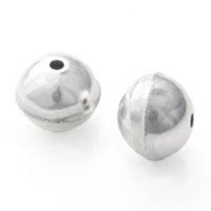 Picture of Sterling Silver Seam Bead 9mm .064 Inch Hole