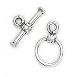 Picture of Sterling Silver Toggle 8mm Loop 13mm Bar