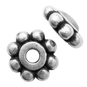 Picture of 6mm Silver Plated Daisy Spacer