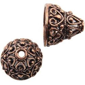 Picture of Copper Bali Style Cone 12x14mm, Approx. Unit of 5 pieces