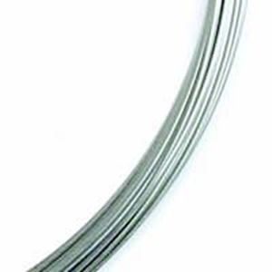 Picture of Beadalon Remembrance Large Nickel Memory Wire .025 Inch 1 ~        oz