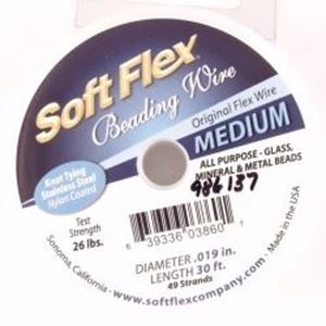"Picture of Soft Flex 49 Strand 0.019"" 30 Feet"