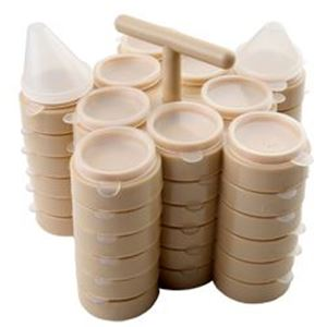 Picture of Bead N' Go Tray 6 Pack<br />60 Wells & 60 Lids, 6 Trays