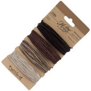 Picture of Natural Earthy Colours 20lb, 100% Natural Hemp 1mm<br ~        />4x29.9ft