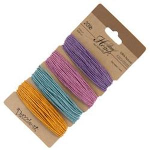 Picture of Pastel Colours 20lb, 100% Natural Hemp 1mm<br />4x29.9ft